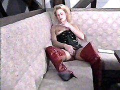 Milf, Vintage mmf stocking busty