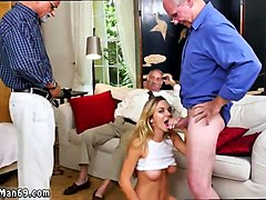 Black, Creampie, Teen and old man