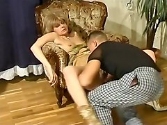 Blonde, Rough, Sex slave tied up and fucked hard