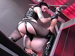 Compilation, Femdom, Femdom strapon love it