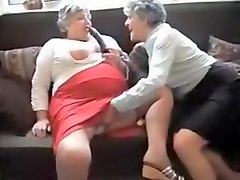 Granny, Grannie anal with saggy tits