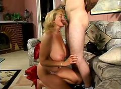 Blonde, Milf, 3 german milf and 2 guys