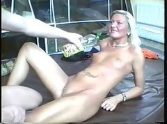 Amateur, Blonde, Jerky girls oiled