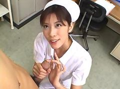 Asian, Small Cock, German nurse