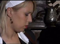 German, Maid, Caught by hotel maid