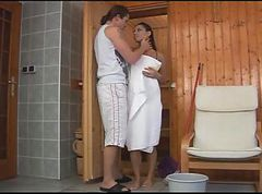 Sauna, Masturbating in the sauna