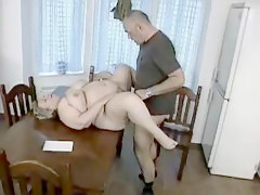 Chubby, German, Milf with hairy get banged
