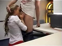 Blonde, Office, Office anal