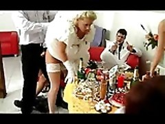 Bride, Orgy, Wife interracial party