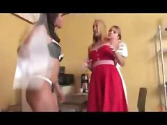 Blonde, Lesbian, Wife gets punished by husand