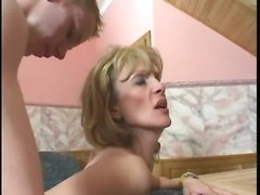 Teen, Seduced, Teen seduced by milf