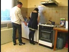 Anal, French, Young maid