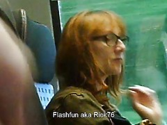 Flashing, Mature, Granny public dick flash