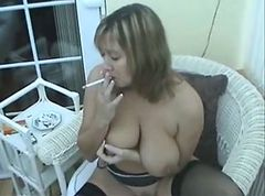Smoking, Milf, Smoking and riding