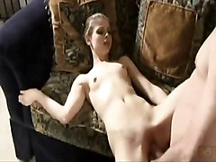 Teen, Creampie, Hairy creampie close up