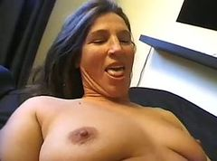 Hairy, Mom, Granny hairy creampie doggystyle