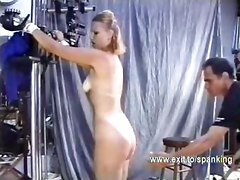 Leather, Ass, Belt spankings