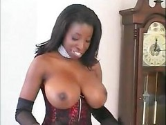 Ebony, Black, Secretary stockings