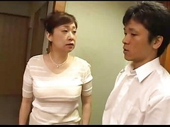Asian, Japanese, Handjobs mom