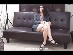 Amateur, Casting, Amateur milf interview