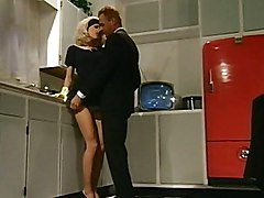 Housewife, Kitchen, Housewife blackmailed