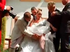 Gangbang, Bride, Wedding 3 some
