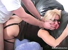Blonde, Glasses, Girl with glasses medical exam
