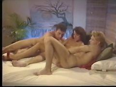 Threesome, Wife reluctant strip for