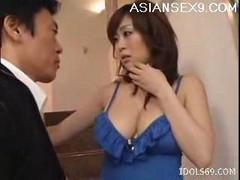 Asian, Japanese, Japanese wife with father in law