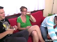 Threesome, Mature, Threesome british