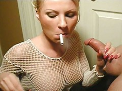 Blowjob, Smoking, Smoking peeing